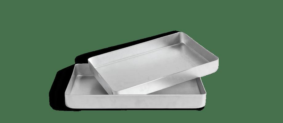 HAY Kitchen Market Aluminium Tray Stekbleck i small och large