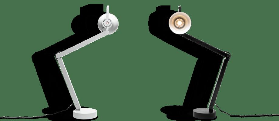 HAY PC Lamp Bordslampa i färgerna Ash Grey och Soft Black