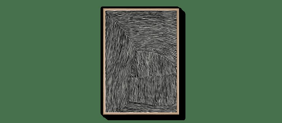 Hein Studio The Line No. 10 Print 70x100 cm på 200g Munken Lynx