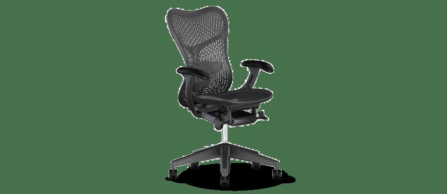 Herman Miller Mirra 2 Kontorsstol med TriFlex II i färgen Graphite