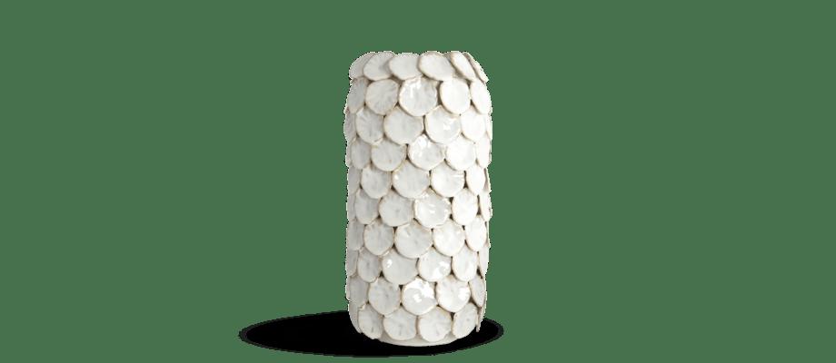 House Doctor Dot Vase Vas Vit