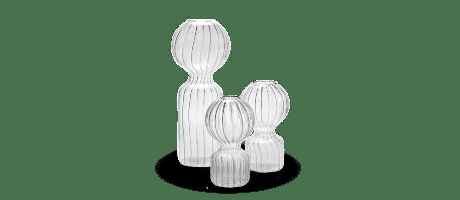 Vaserna Iki Doll från Serax i storlekarna small, medium och large