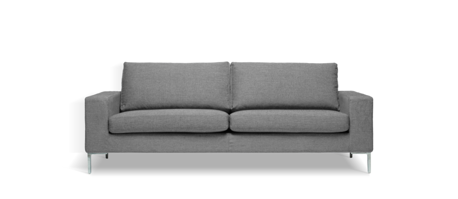 Ire Möbel Infini Grande Soffa 2-sits i grått tyg