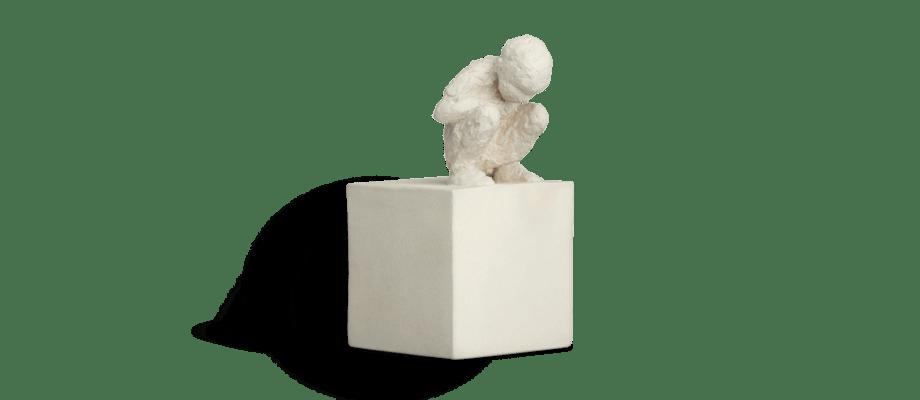 Kähler Character The Curious One Skulptur