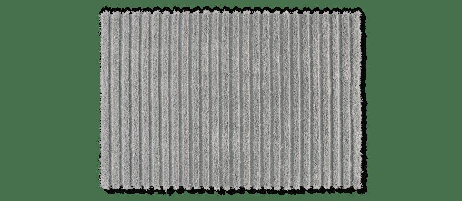 Kasthall Ines Matta i den grå färgen Moon 550