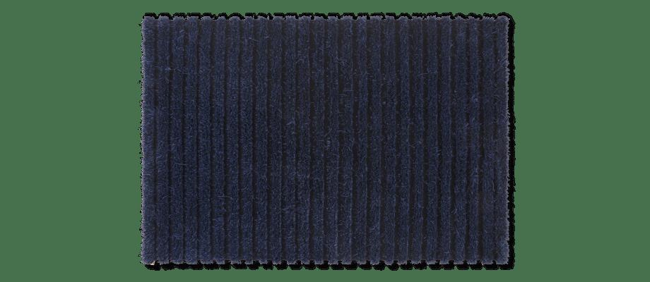 Kasthall Ines Matta i den mörkblå färgen Saphire 220