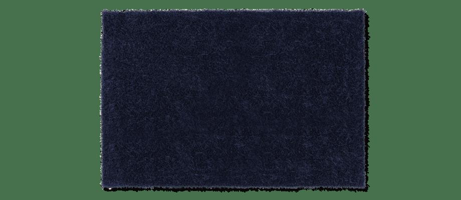 Kasthall Moss Matta i den mörkblå färgen Brilliant Blue 250