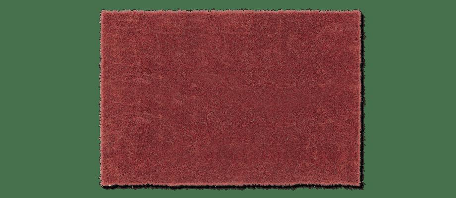 Kasthall Moss Matta i den röda korallfärgen Deep Coral 100