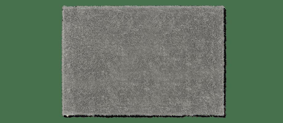 Kasthall Moss Matta i den grå färgen Silver Grey 500