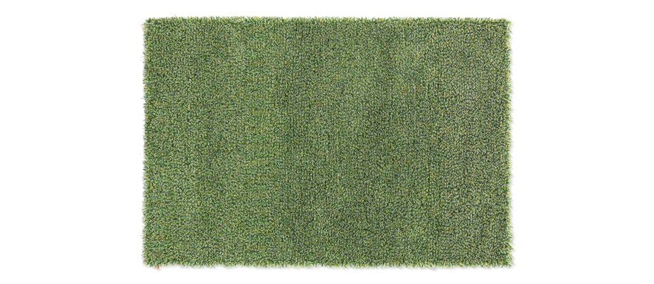 Kasthall Tekla Apple Sour Handtuftad matta av ullgarn och lin