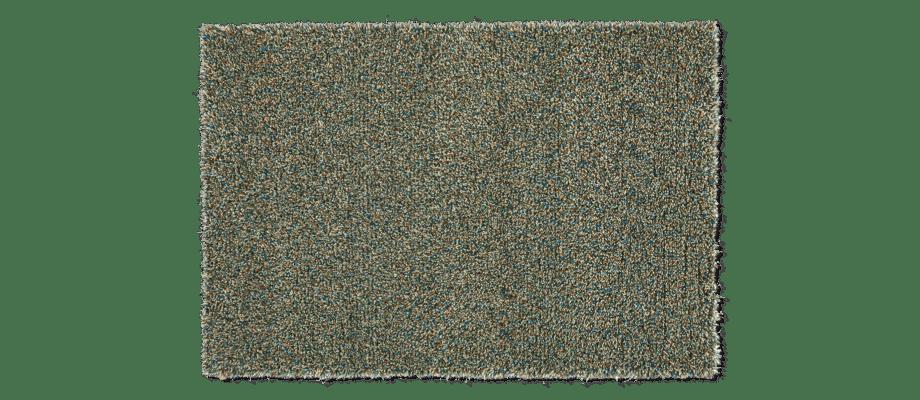 Kasthall Tekla Menthol Handtuftad matta av ullgarn och lin