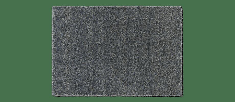 Kasthall Tekla Mystery Blueberry Handtuftad matta i ullgarn och lin