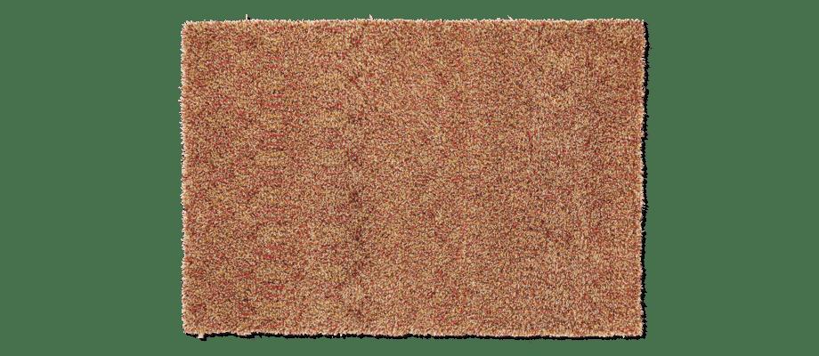 Kasthall Tekla Toffee Handtuftad matta i ullgarn och lin