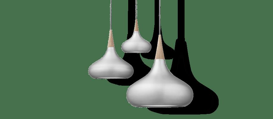 Lightyears Orient Aluminium Pendel med detaljer av skandinavisk ek