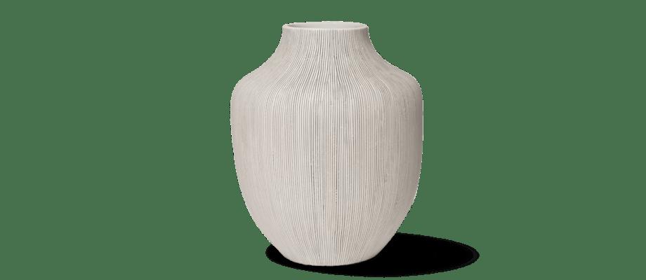 Vasen Kyoto från Lindform finns i både grå och blå färg i vår webbutik