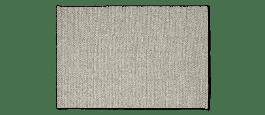 Linie Design Caldo Grey Handvävd matta i grå färg