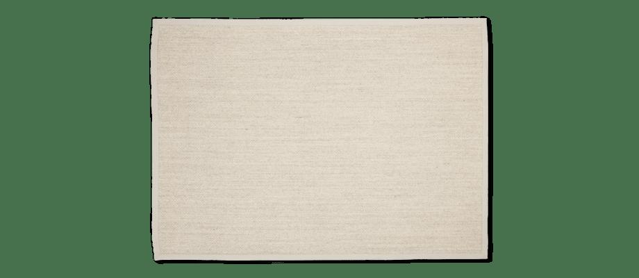 Linie Design Dinas Natural Matta i sisal och jute med polyesterkant