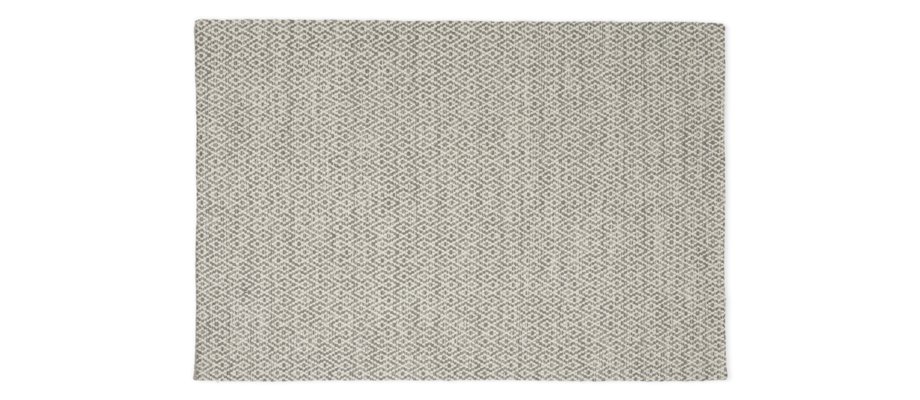 Linie Design Labyrinthe Silver Ullmatta med mönster