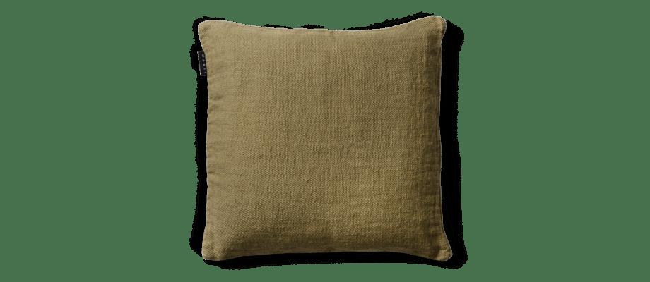 Linum Raw Soft Grey Green A26 Kuddfodral 50x50 cm