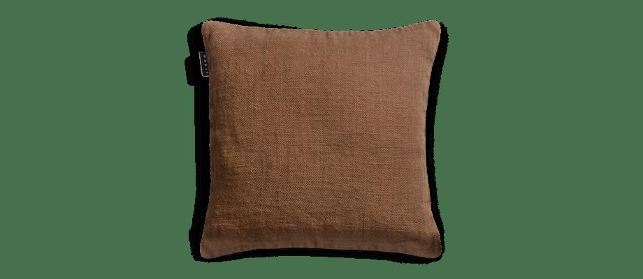 Linum Raw Kuddfodral Camel Brown 50x50 cm