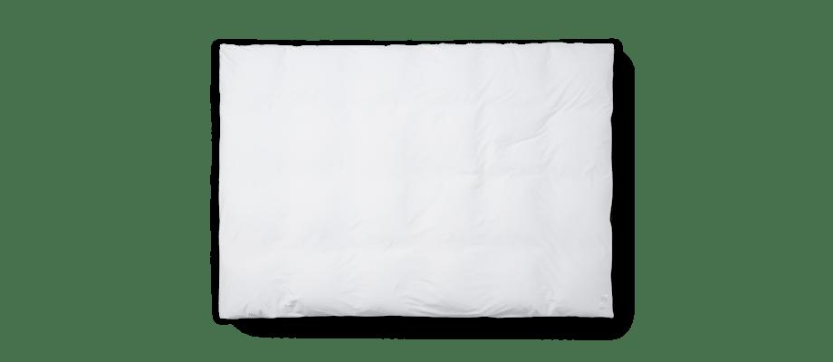 Magniberg Nude White Påslakan i vit ekologisk bomull