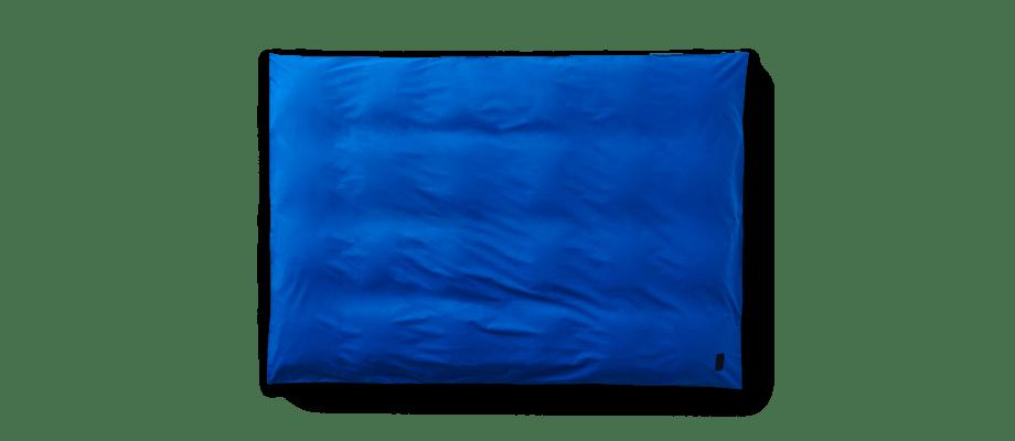 Magniberg Pure Italian Blue Påslakan i supimabomull med en blå färg