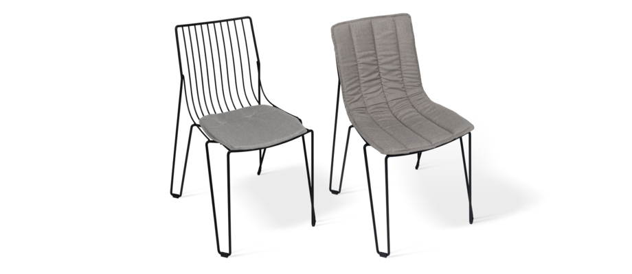Massproductions Tio Chair Seat Pad och Seat Cover Dynor