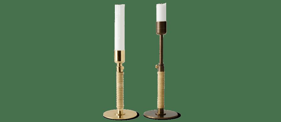Menu Duca Candleholder Ljusstake i polerad och bronserad mässing