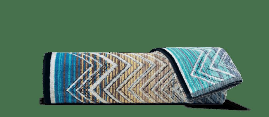 Missoni Home Tolomeo 170 Handduk med zigzagmönster