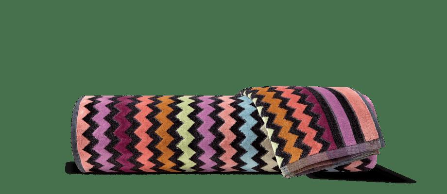 Missoni Home Warner 159 Handduk i färgglatt zickzackmönster