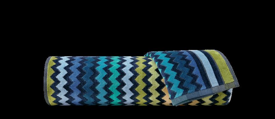 Missoni Home Warner 170 Handduk med zigzagmönster