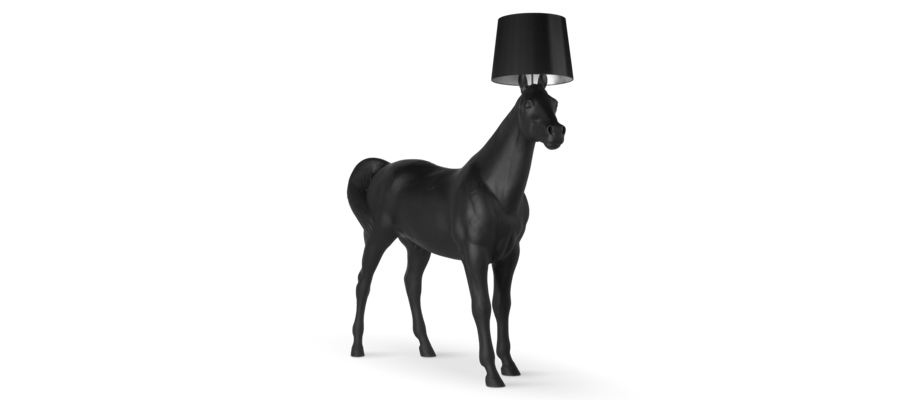 Moooi Horse Lamp Hästlampa i naturlig storlek