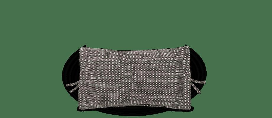 Muuto Accent Cushion Green Kudde i grön färgtoner med en tydligt textur från bomullen