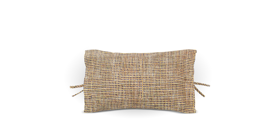 Muuto Accent Cushion Yellow Kudde i bomull av Magrethe Odgaard