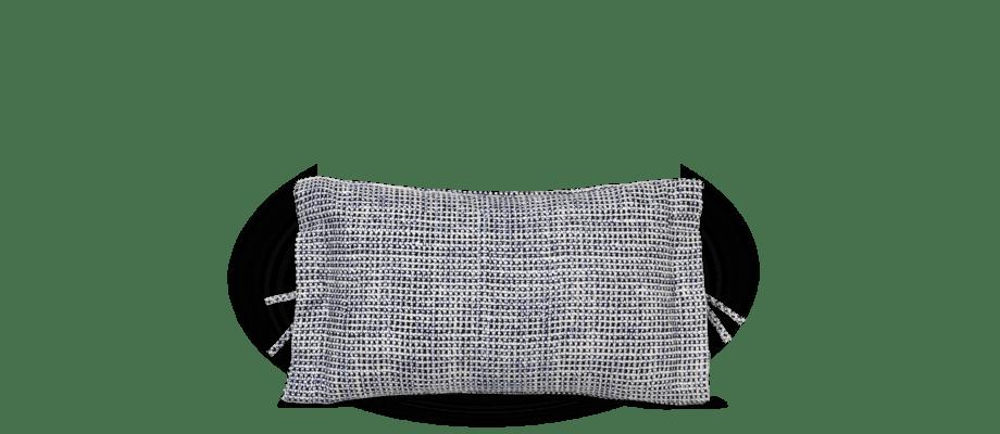 Muuto Accent Cushion Kudde i bomull med vit färg av Margrethe Odgaard