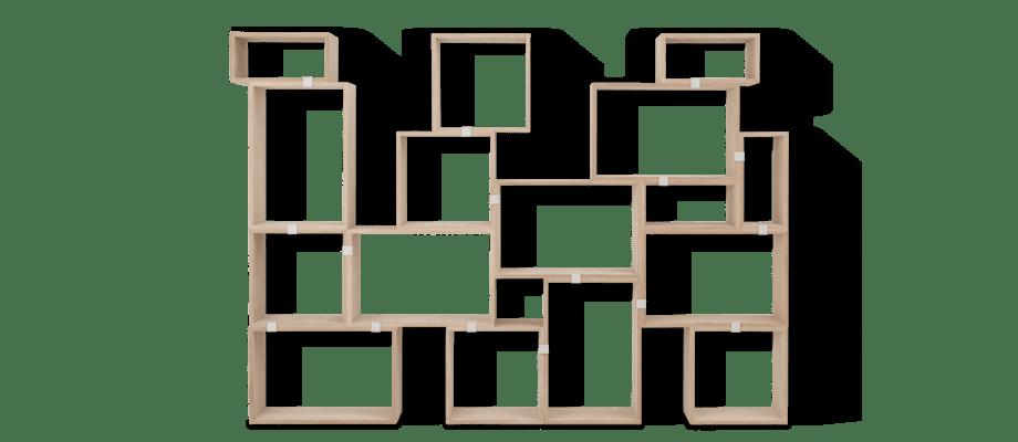 Muuto Stacked Configuration 10 Bokhylla i ek