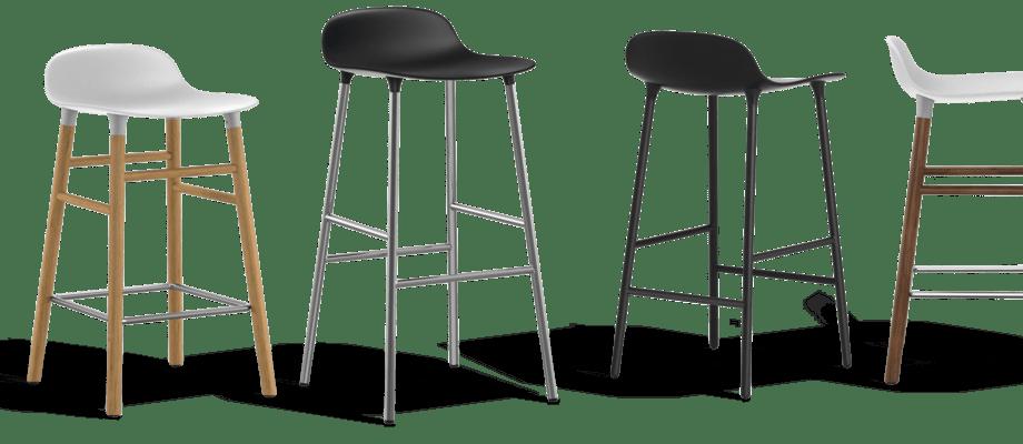 Välj barstolen Form från Normann Copenhagen i över 600 varianter på Olsson & Gerthel