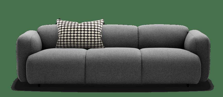 Normann Copenhagen Swell är en bekväm och mjuk soffa med design av Jonas Wagell
