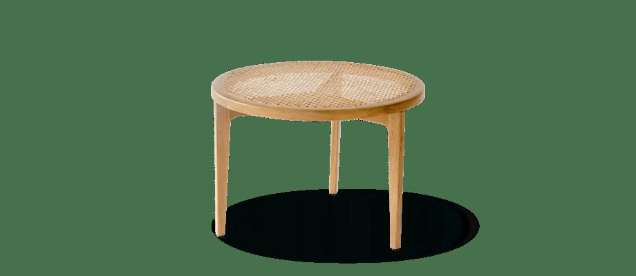Norr11 Le Roi Coffee Table Soffbord i massiv ek och rotting