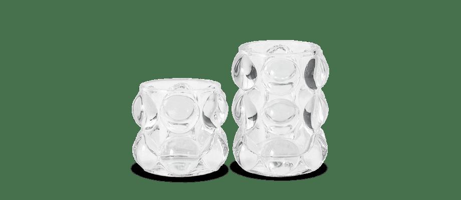 Olsson & Jensen Bubbla Ljuskopp i glas