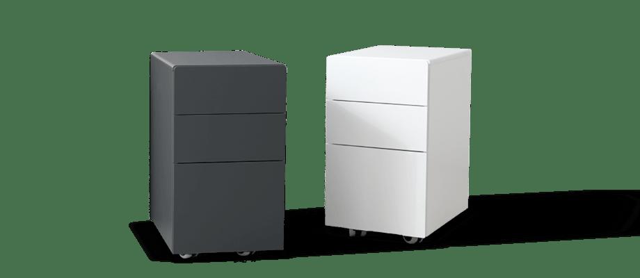 Hurtsen Overtime från Voice Furniture är tillverkad i MDF och finns i färgerna grafit eller vit
