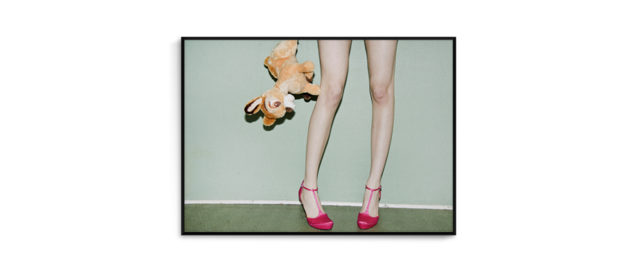 Paper Collective Bambi & Heels Poster 70x50 cm