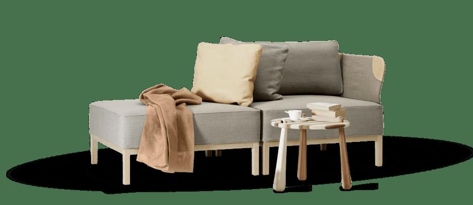 Den Svanenmärkta soffan Rejoin av Emma Olbers för Ire Möbel går att köpa i moduler