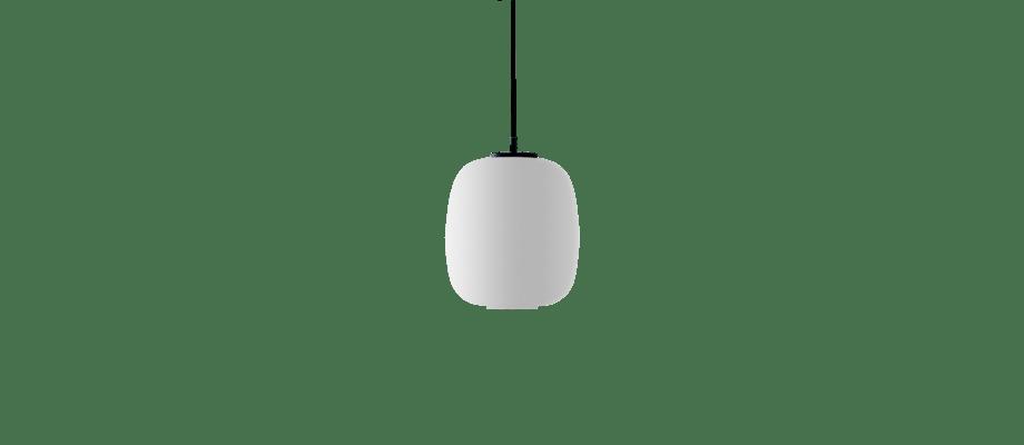 Santa & Cole Globo Cestita Pendel i vitt opalglas
