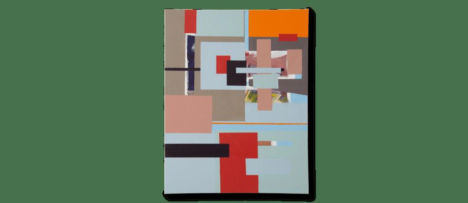 Simon Vendin Collage II Tavla 70x90 cm