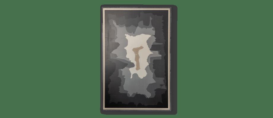 Simon Vendin Infinity IV Tavla i akrylfärg på linneduk med svart träram