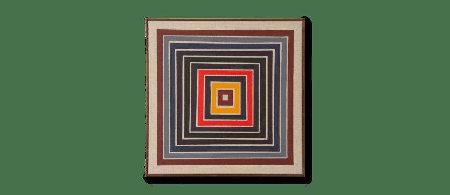 Simon Vendin Sunset III Tavla 67x67 cm