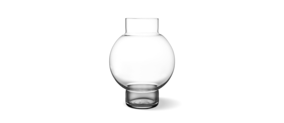 Skrufs Glasbruk Tokyo Ljuslykta/Vas i munblåst klarglas