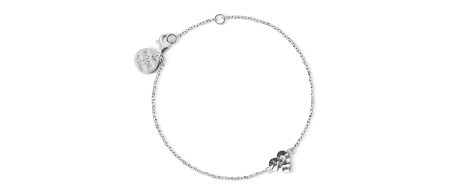 Sophie by Sophie Wild Heart Bracelet Armband i rhodiumpläterat silver
