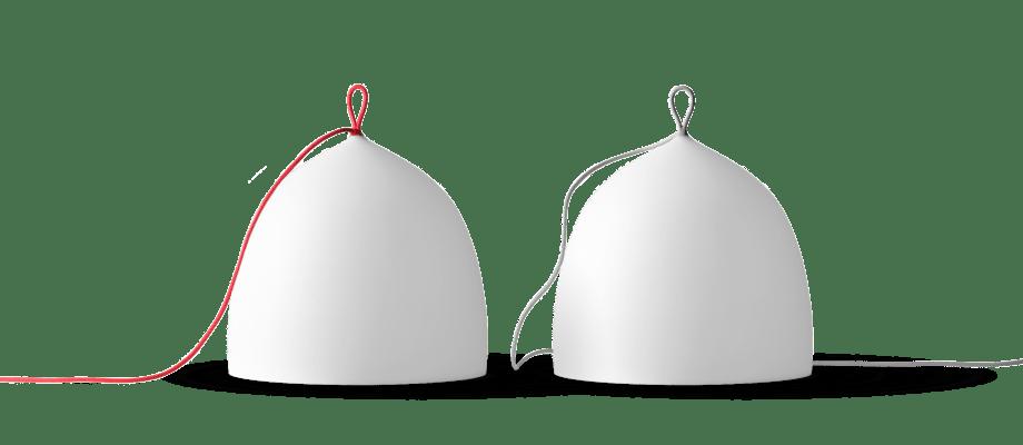 Lightyears Suspence Nomad Golvlampa med röd och grå sladd